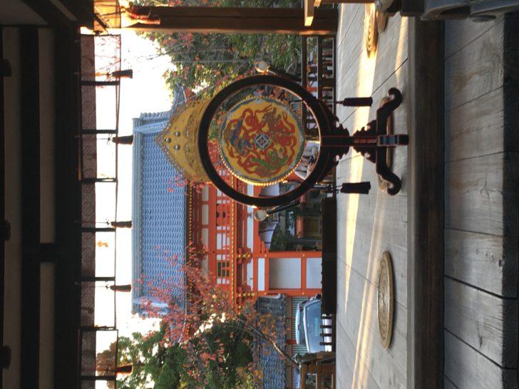 新日吉神社 火焚き祭